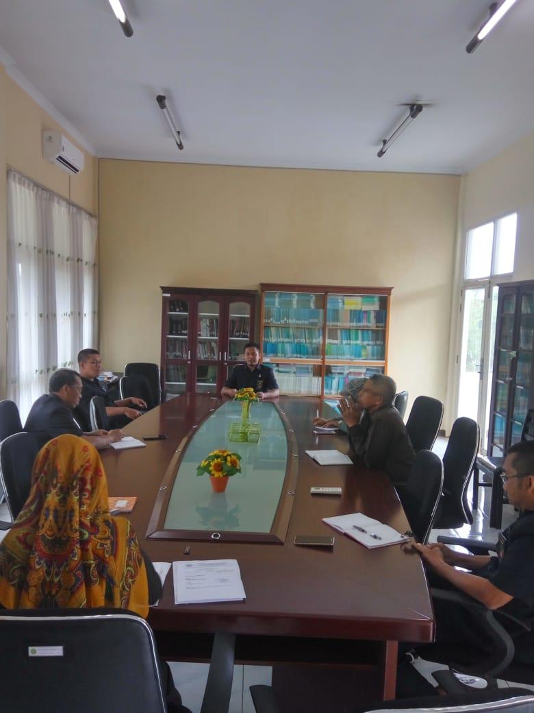 Rapat Pencanangan Pembangunan Zona Integritas PA Sanggau