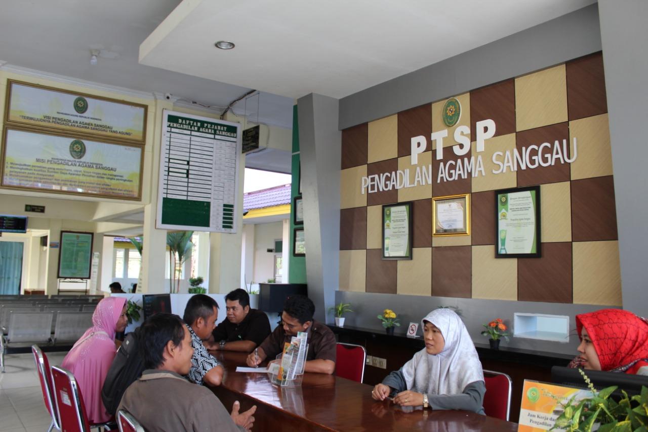 PA Sanggau Tangani Perkara Perdana Melalui E-court