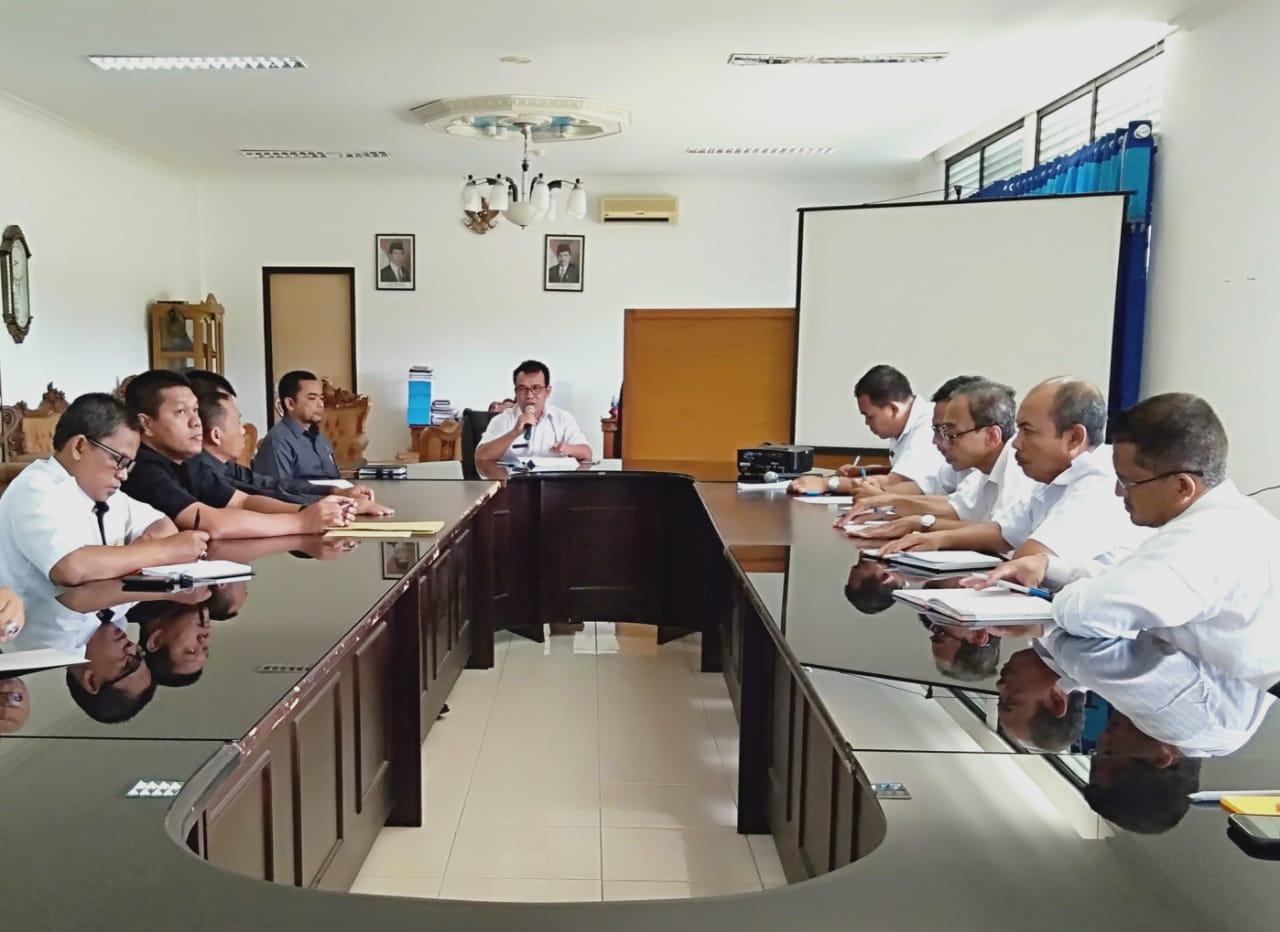Rapat Bersama Bahas Persiapan Sidang diluar Gedung dan Sidang Terpadu oleh PA Sanggau