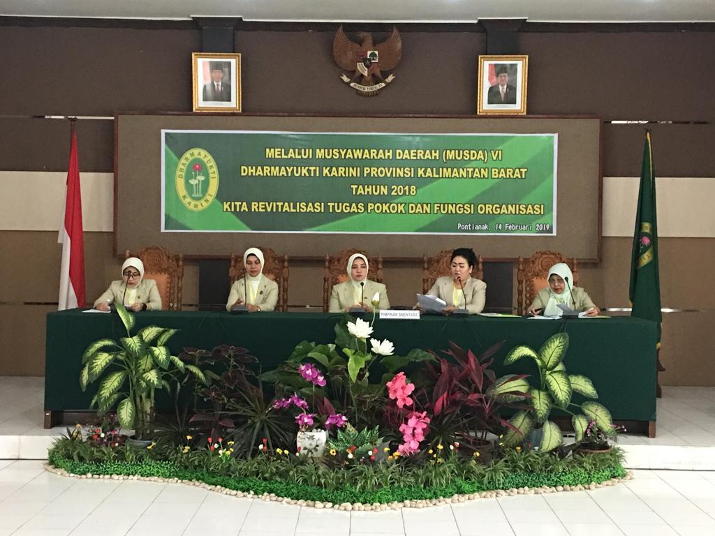 DYK  Cabang Sanggau Hadiri Musda ke-VI Tahun 2018 di Pontianak