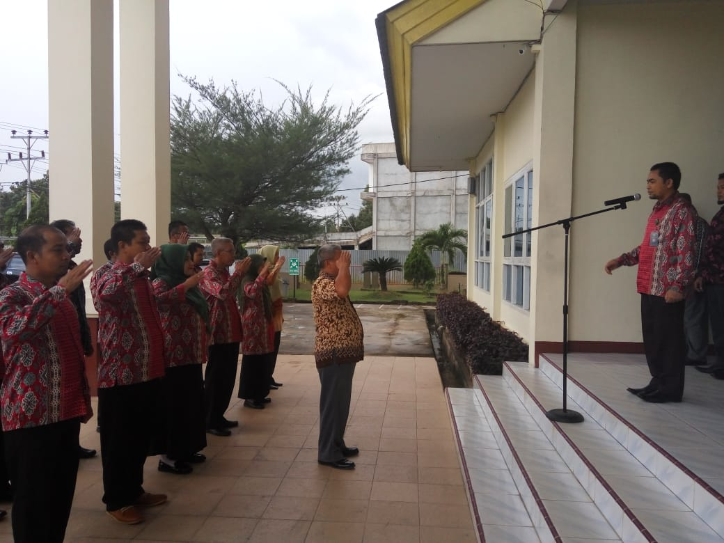KPA Sanggau : 'dengan apel pagi dan sore banyak manfaat yang bisa kita peroleh bersama'