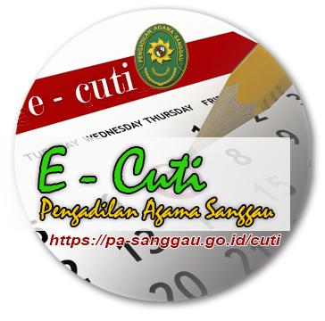 E-Cuti PA Sanggau
