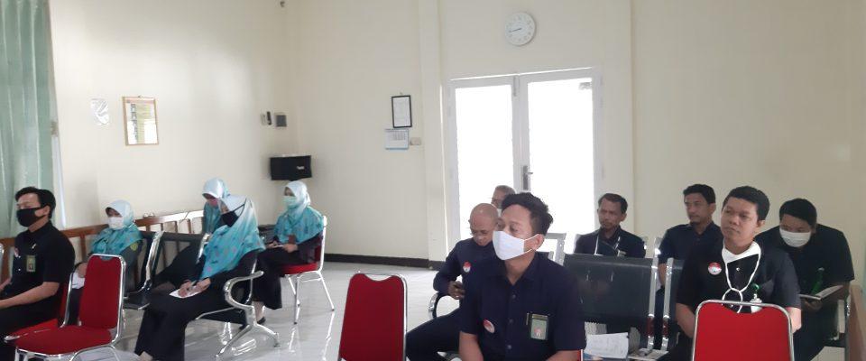 Ketua PA Sanggau Pimpin Rapat Monev Kinerja Triwulan II