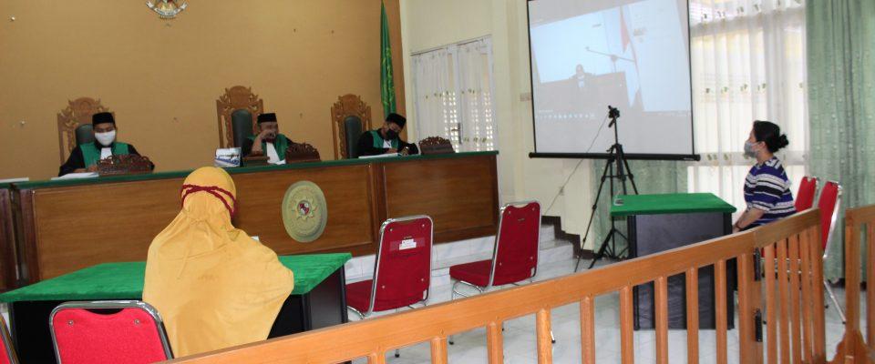 PA Sanggau Kembali Laksanakan Persidangan via Teleconference