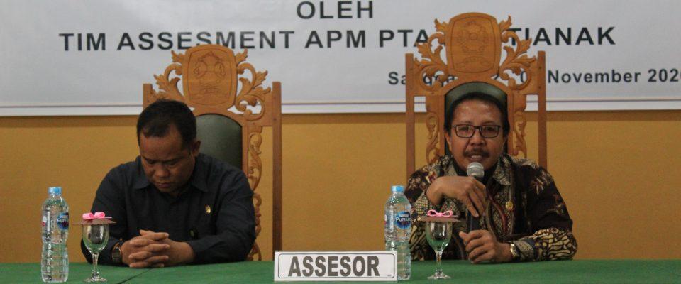 Tim Observasi Implementasi APM PTA Pontianak di PA Sanggau
