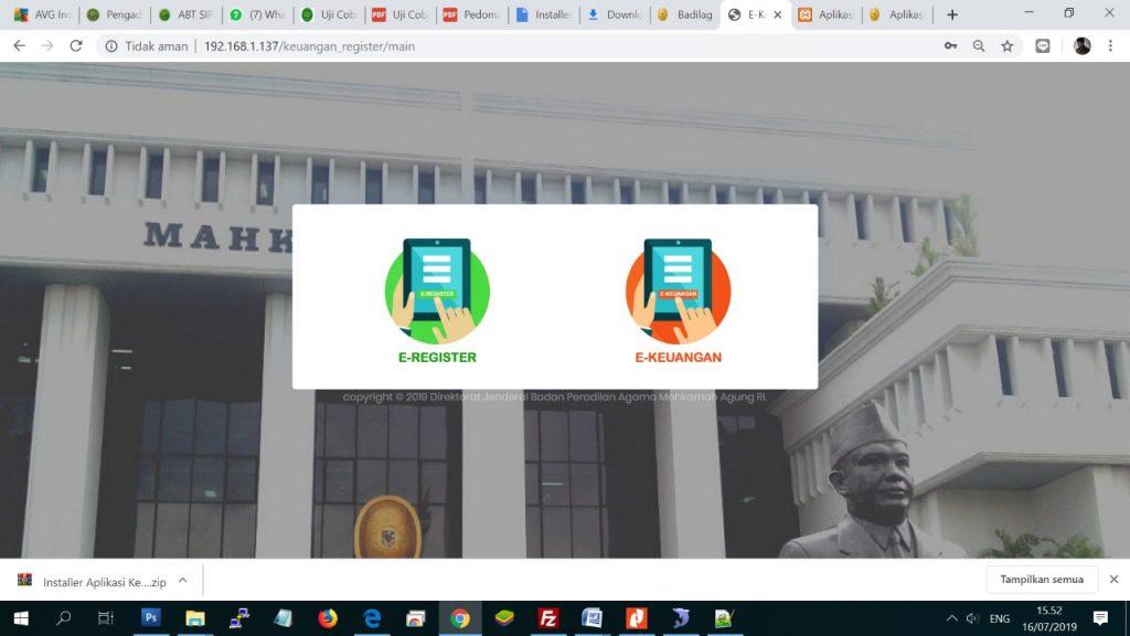 PA Sanggau Sukses Ujicoba Aplikasi Inovasi Badilag | (12/9)