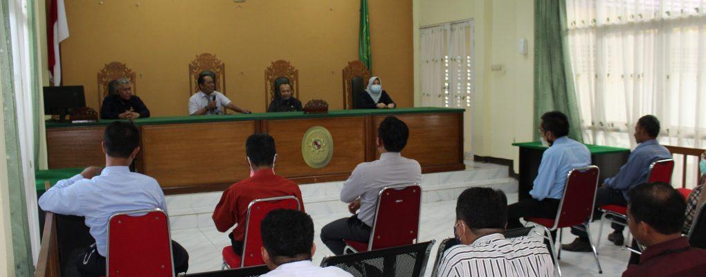 Pengawasan Hatibinwasda PTA Pontianak ke PA Sanggau