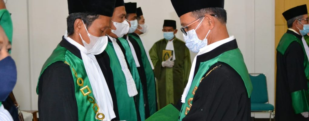 Upacara Pengambilan Sumpah Jabatan dan Pelantikan Ketua PA Sanggau